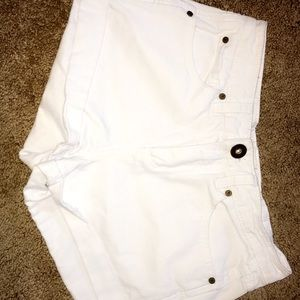 White High Waisted O'Neill Shorts